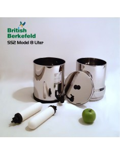 "Sterasyl 7"" Ersatzfilter British Berkefeld (2 Stück)"