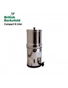 Edelstahler Zapfhahn für British Berkefeld und Berkey Filter