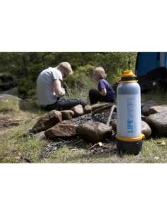 British Berkefeld Compact 6 Liter Outdoor Wasserfilter aus Edelstahl